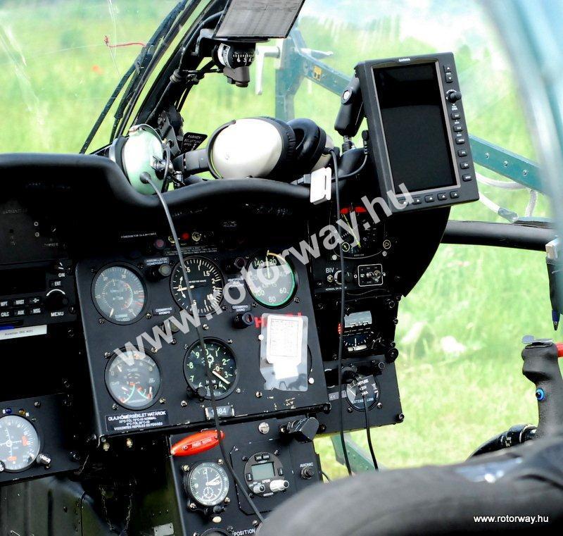 alouette cockpit