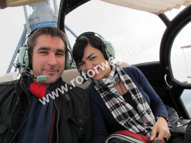 helicopter sétarepülés