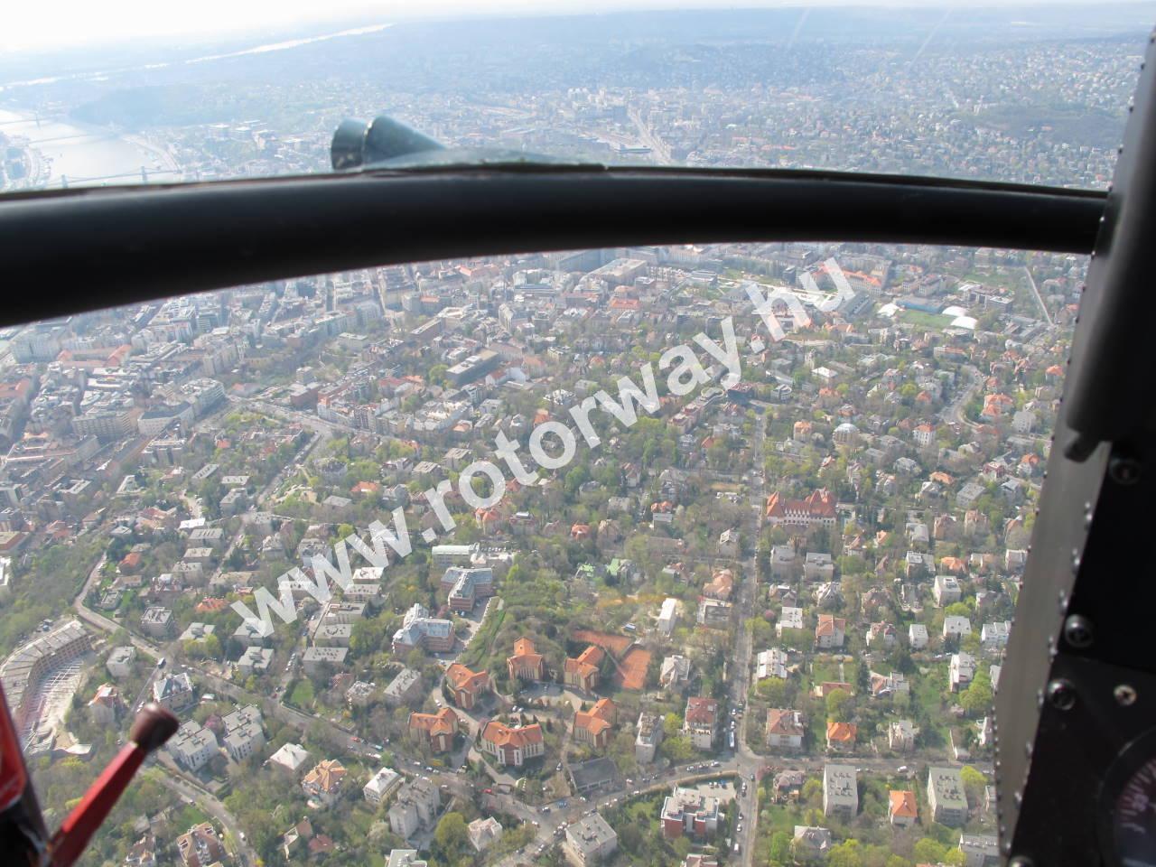 helikopter Budapest