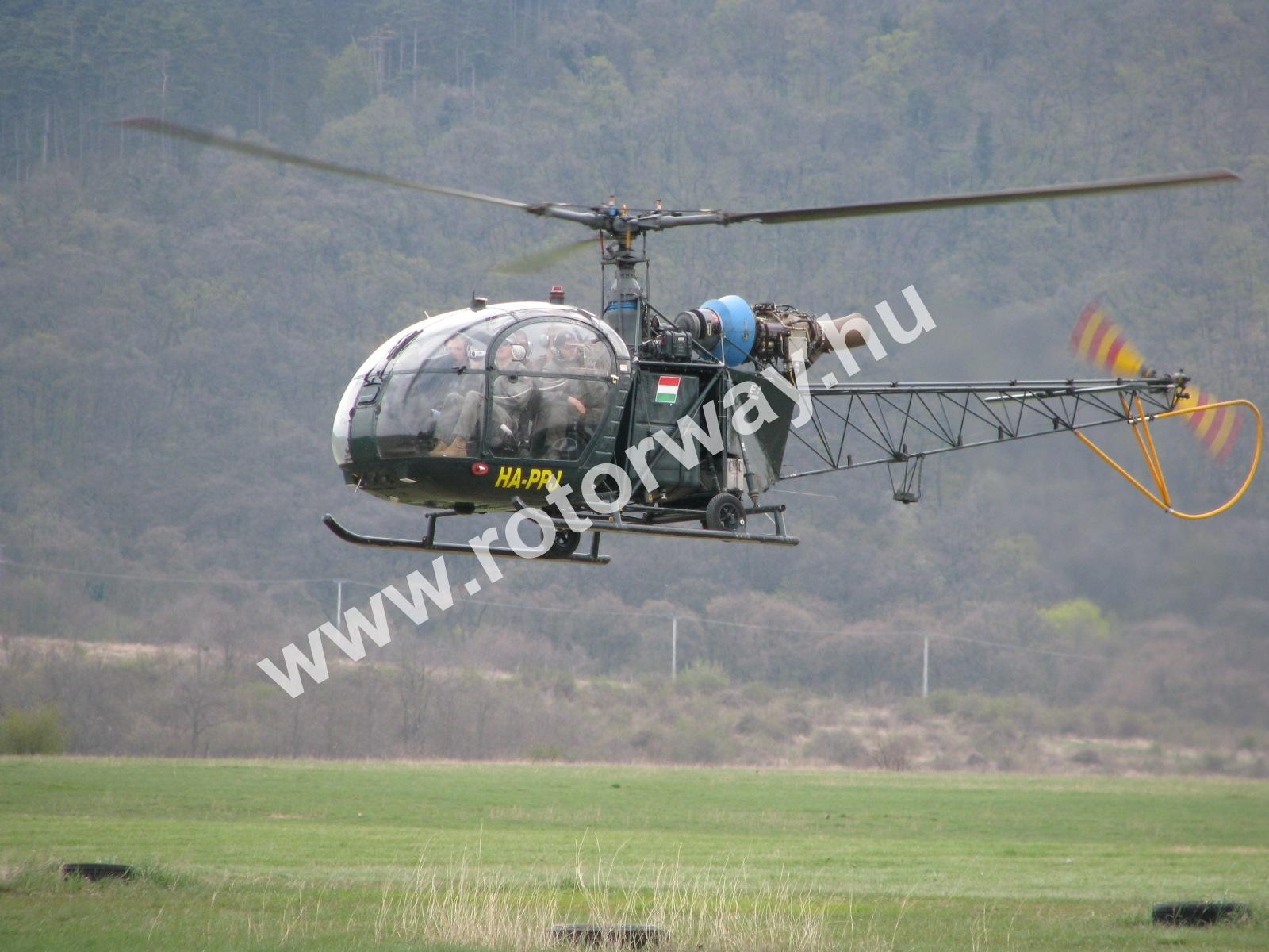 Helicopter Alouette II